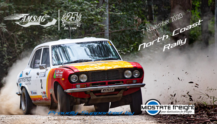 The North Coast Rally will replace the Orange Rally and will run on 7 November 2020. For more details visit the Event Page