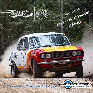 Entries are now open for the AMSAG North Coast Rally. The event, based south of Macksville, will feature a Long Course Day/Night event and a Short Course Day only event. More details can be found on the Event Page.